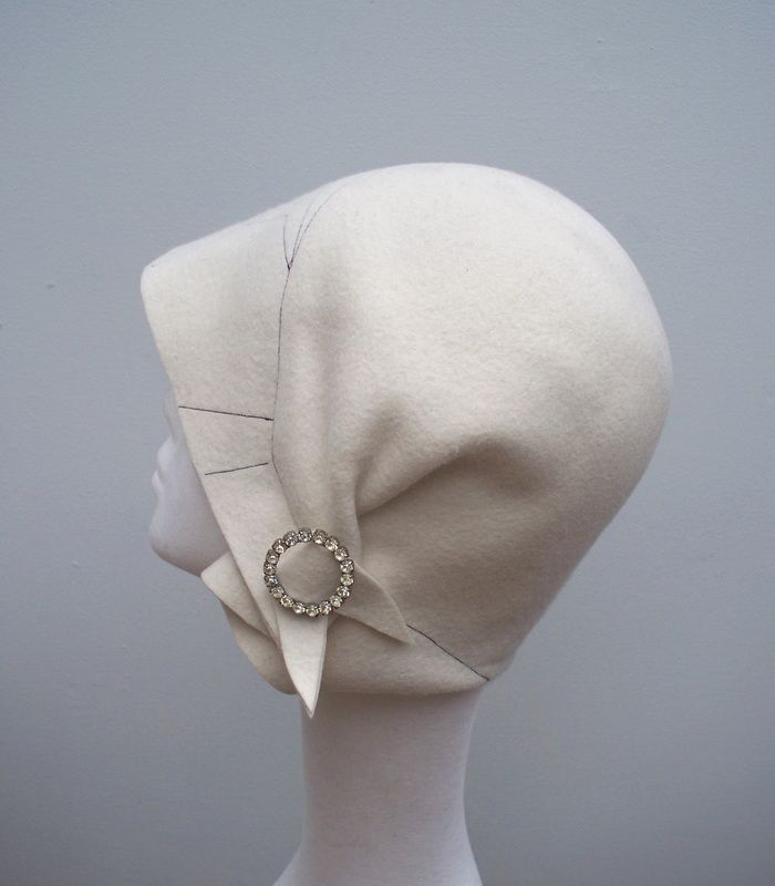 Tramp Millinery: Hats Hair Clips, Ha Ha Hats, Vintage Hats, Hats A Plenty, Hairpin Cloche, Hats Scarf Headpiece, Hair Hats, Millinery Ideas