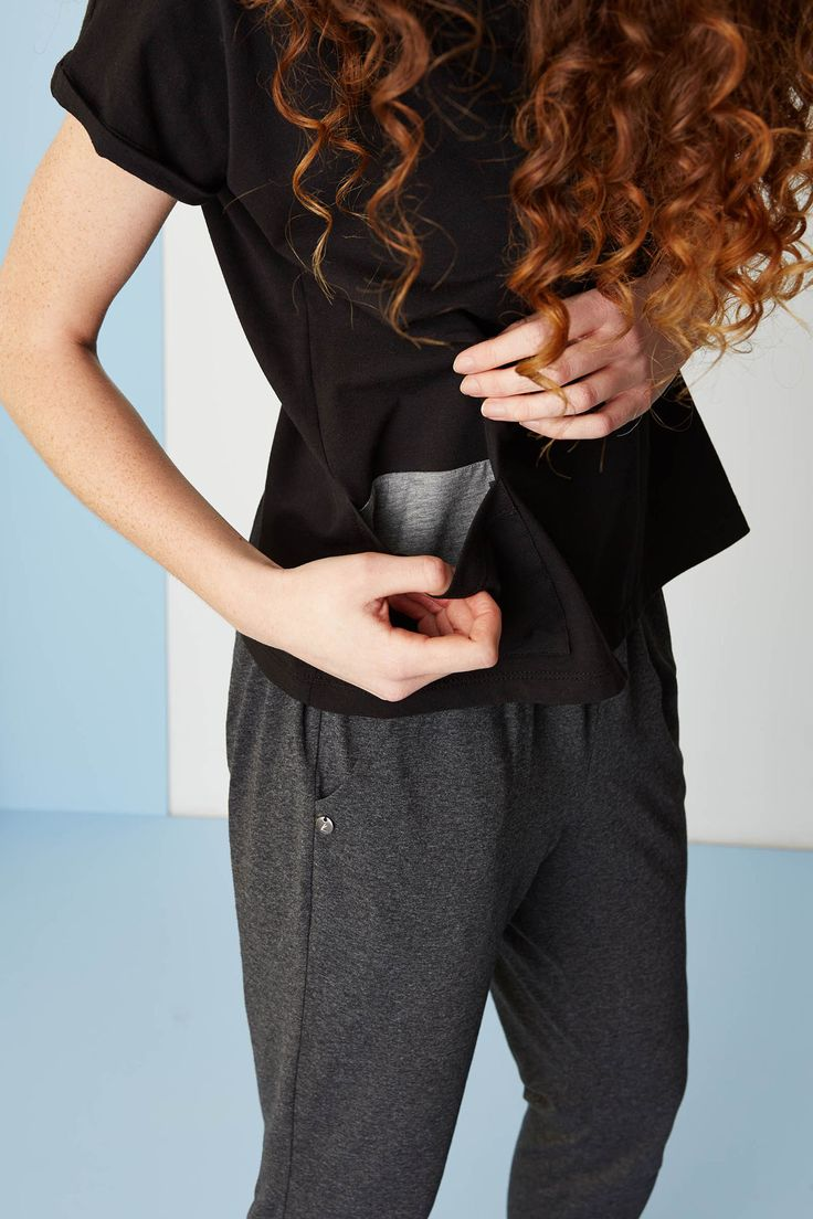 T-shirt with pocket. #ss2015