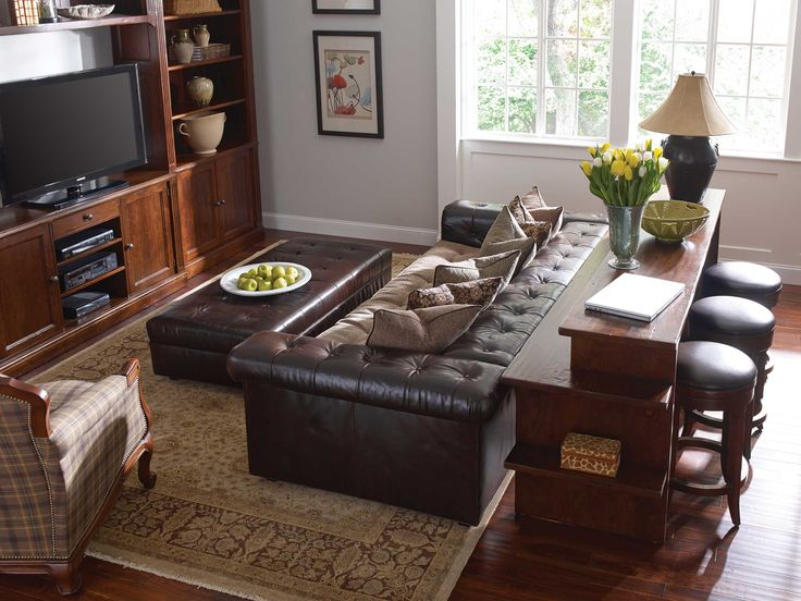 Stickley Furniture: Gathering Island With Chicago Sofa  Perfect For  Entertaining  It Even Has