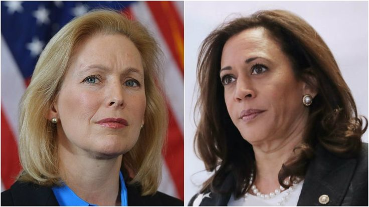 Kamala Harris and Kirsten Gillibrand will lead Democrats to 2020 victory