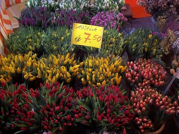 Saturday Morning Market In Wiesbaden
