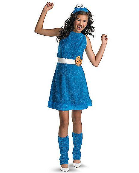 Tween Cookie Monster Costume - Sesame Street - Spirithalloween.com