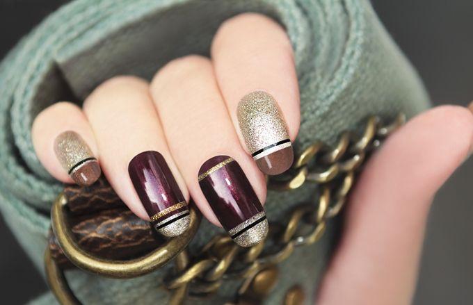 Le unghie ovali sono pronte a graffiare l'inverno