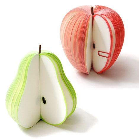 Fruit Sticky Note Pads