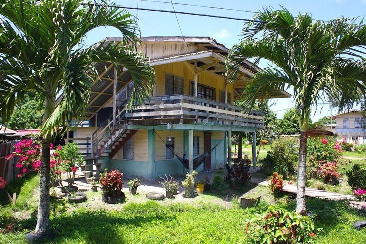House in surinam