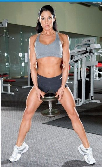 Shape those inner thighs with this exercise