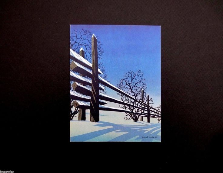 69 best Eyvind Earle Style images on Pinterest | Christmas cards ...