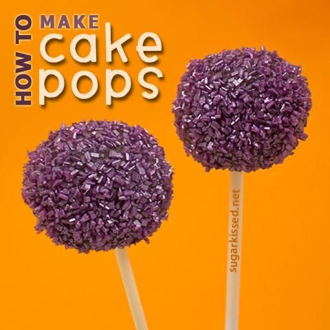 DIY Cake Pop Recipe : How To Make Cake Pops