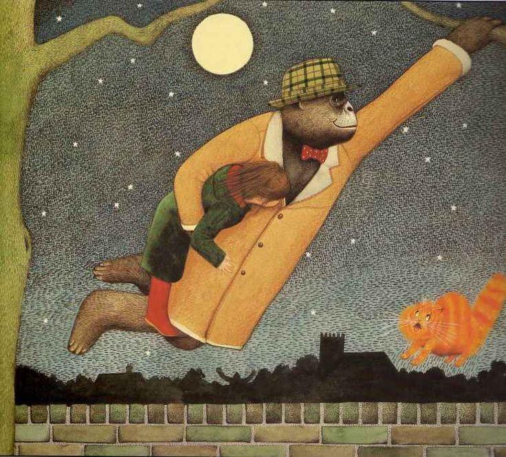 Children's / imaginative Illustrations: Anthony Browne - Gorilla #8
