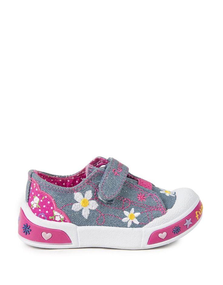 Daisy Denim Bumper Sneakers