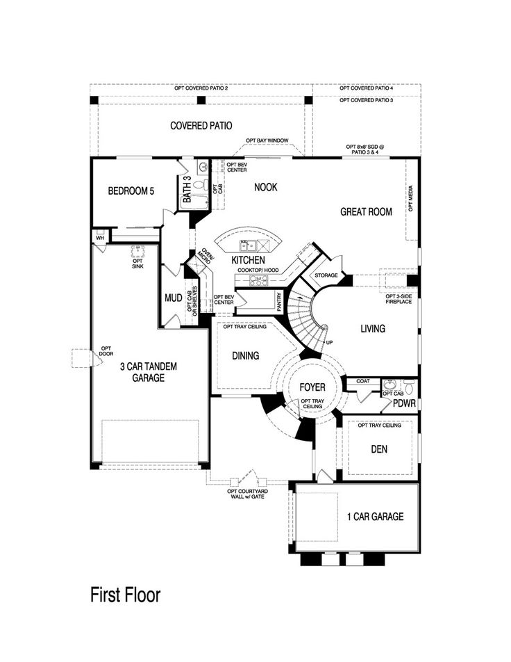 Pulte homes aspen floor plan via for Aspen homes floor plans