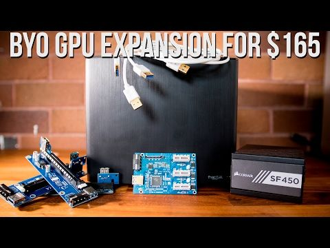 2) BYO GPU Expansion for $165 - Octane Render / Redshift