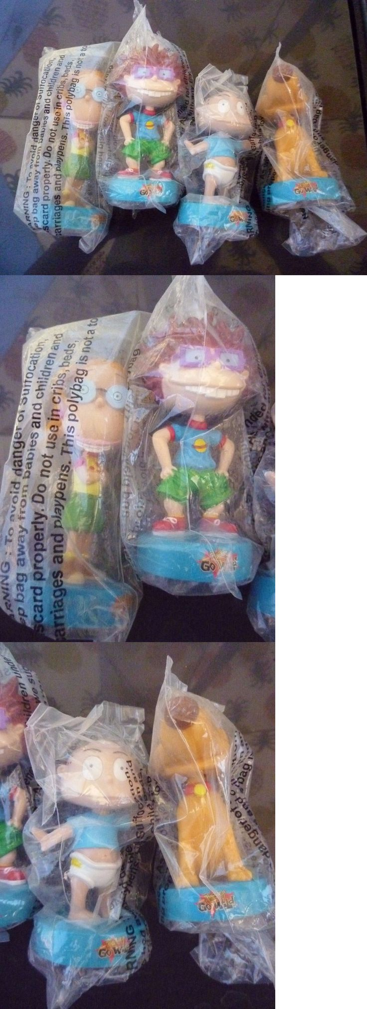 Rugrats 2628: Rugrats Go Wild - Thornberry Bobblehead Figures Skippy Promo 1993 Complete Set -> BUY IT NOW ONLY: $69 on eBay!