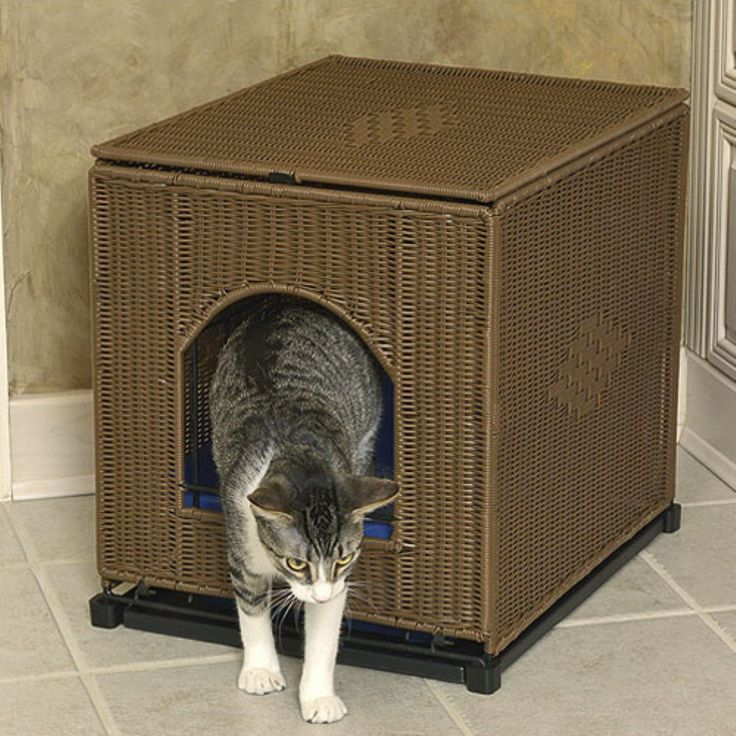 Mr Herzhers Decorative Litter Box Cover - Litter Boxes at Hayneedle