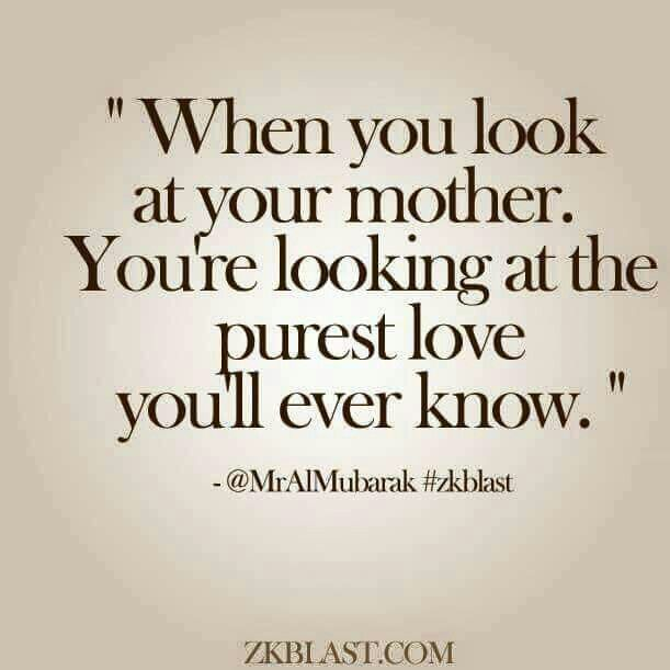 When You Look At Your Mother 17 Years She Is Gone And I