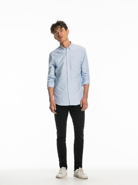 Scotch & Soda Classic Oxford Shirt - Blue