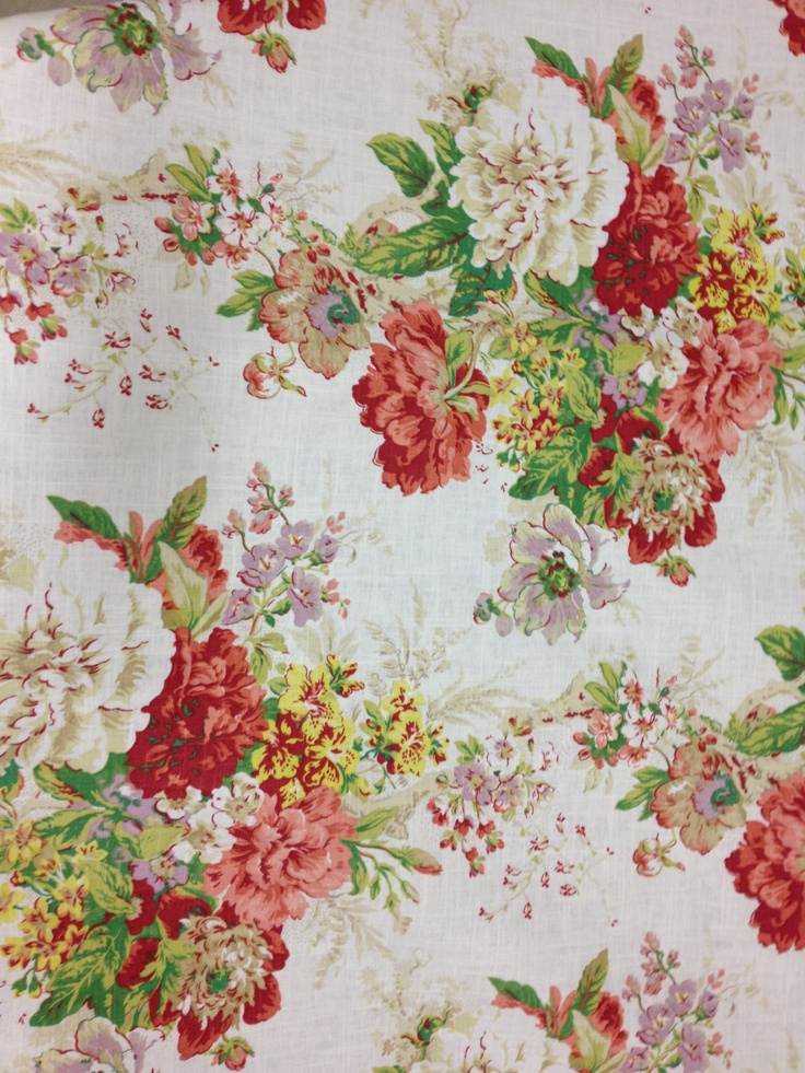 14 best images about fabric trends floral chintz on for Chintz fabric