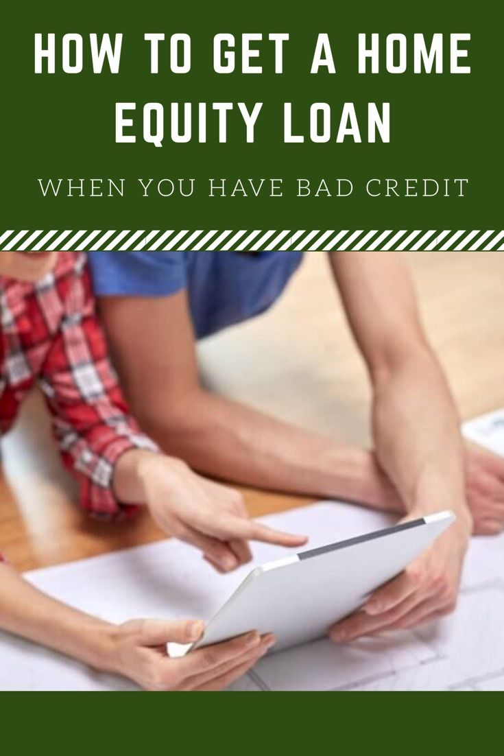Getting a HELOC or home equity loan with poor credit isn't impossible.