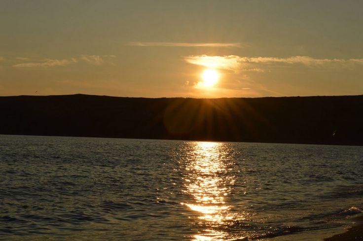 St. Vincent's beach sunset, Newfoundland