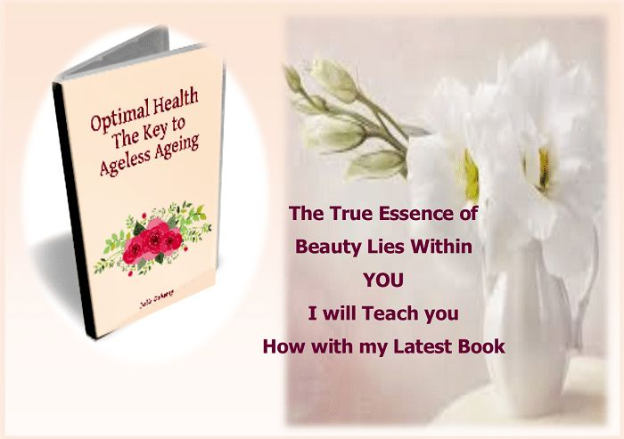 """Do You Struggle with Believing that you are Beautiful  You want to take care of Yourself, but find it all too difficult, not knowing where to start. In Julie's book: """"Optimal Health the Key to Ageless Aging"""" Simple and Effective ways how to care for yourself for your whole life. [Learn More] https://juliedoherty.net/optimal-health-the-key-to-ageless-aging/#"""