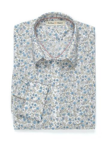 #FGFF Beautifully made organic cotton shirt by Arthur and Henry