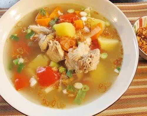 Sayur Sop Ayam