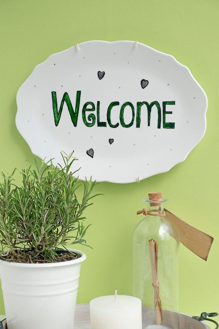 Meer dan 1000 idee n over makkelijke huis decoratie op pinterest budget decoreren initialen - Decoratie hal huis ...