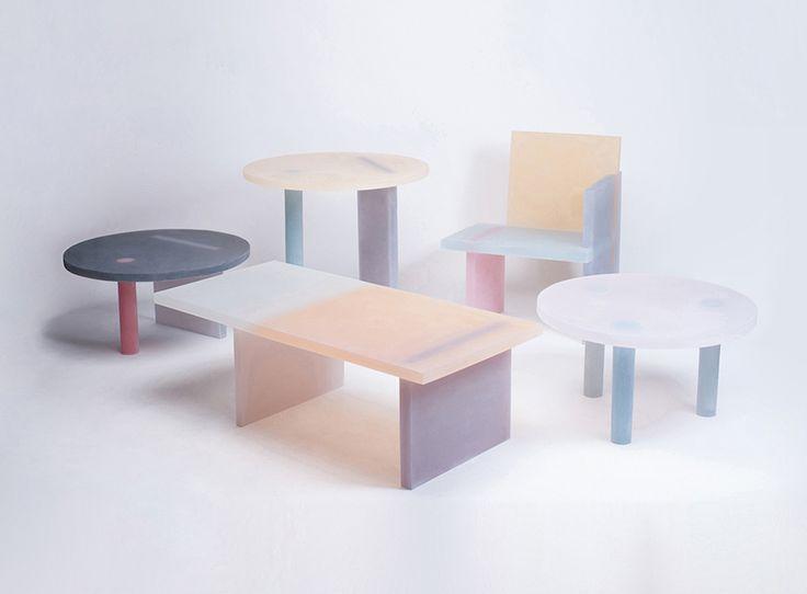 Beautiful Pastel Resin Furniture