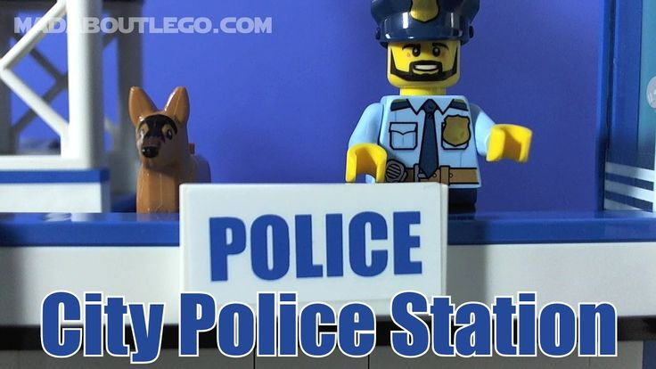 LEGO City Police Station 60141 Stop Motion Build