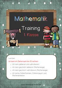 Rechnen im Zahlenraum bis 20: Lernzieltraining für die 1. Klasse