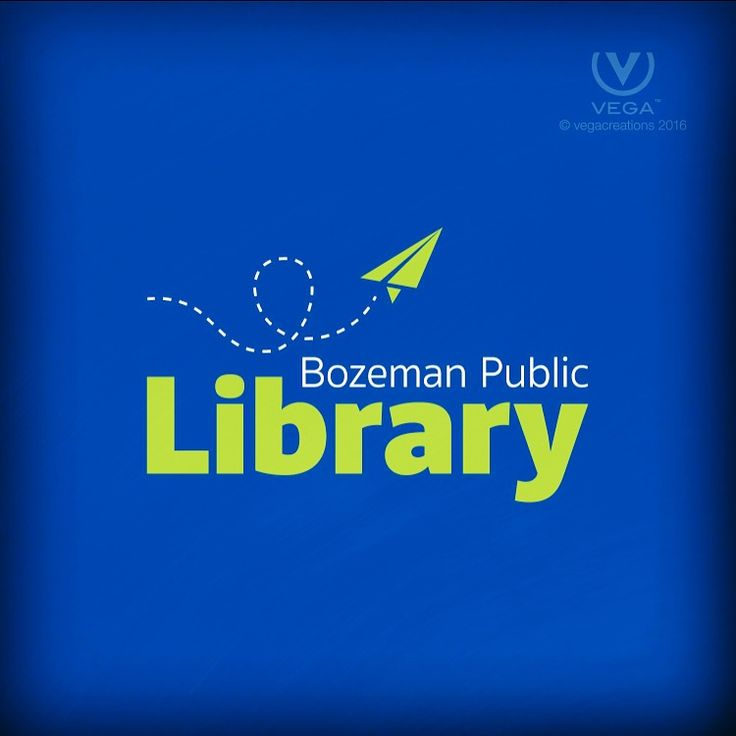 Thanks to Mammoth Marketing for partnering with us on this FUN project for the #bozeman public #library #logo #design #vegacreations