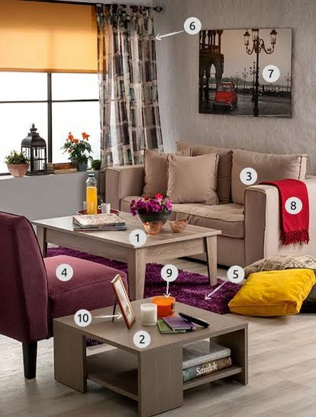 Θέλεις να κάνεις κάποιες αλλαγές στο δωμάτιο και το καθιστικό σου; Έχουμε τις καλύτερες ιδέες.