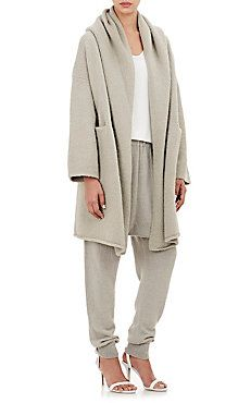 Hooded Capote Coat