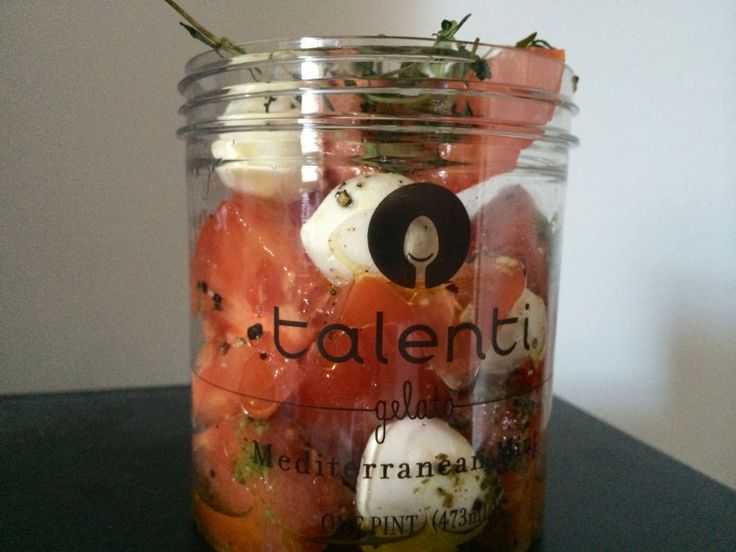 Terrific idea for enjoying a great tasting gelato and then using the container for other items.