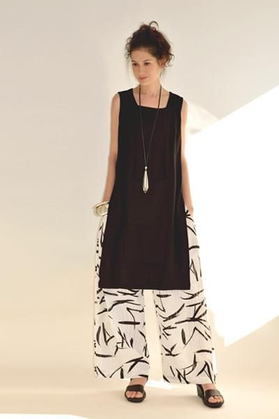 H.P. Tunic in Black Papyrus inspiration