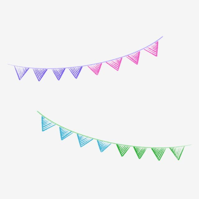 Chalk Drawing Effect Bunting Bunting Chalk Drawing Education Png Transparent Clipart Image And Psd File For Free Download Chalk Drawings Clip Art Train Drawing