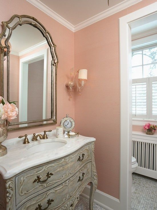 Website With Photo Gallery pink powder room ideas on pinterest Pink Bathroom Powder Room Design Pictures