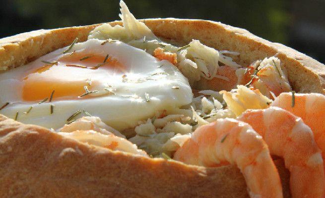 A Açorda de Marisco é um dos pratos típicos portugueses mais apreciados!