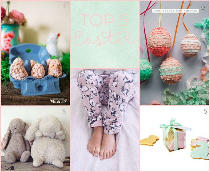 TOP 5 : EASTER CUTENESS