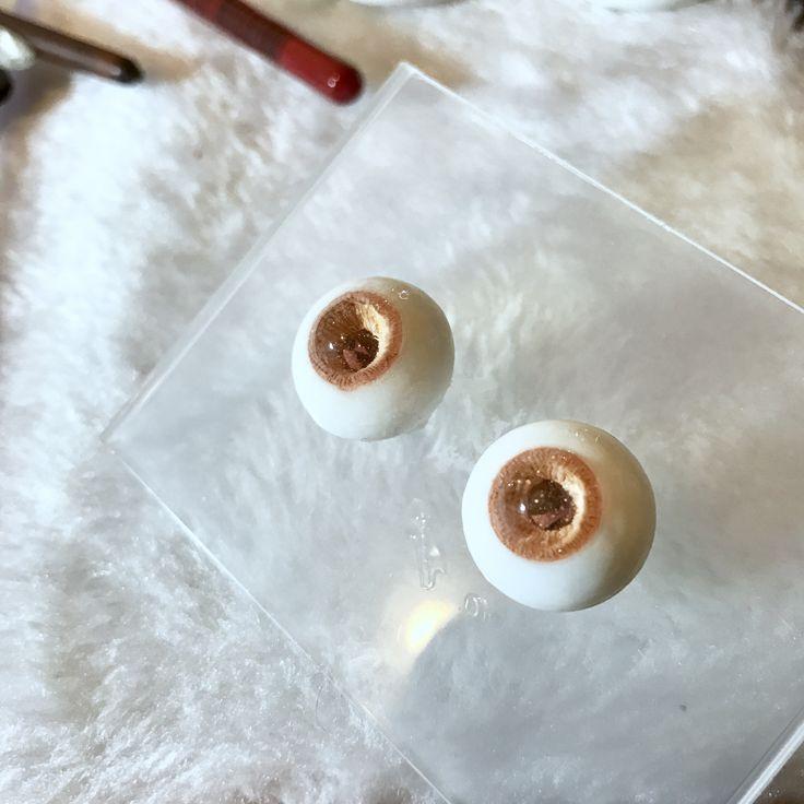 handmade bjd resin eyes.