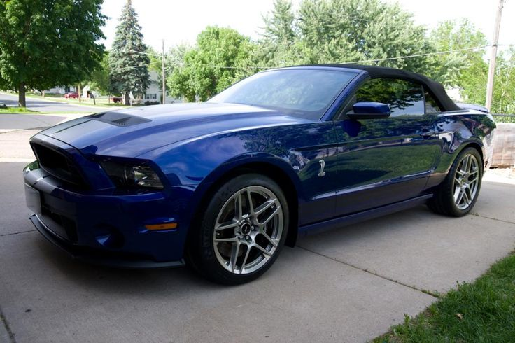 2014  Ford Mustang GT500 Convertible