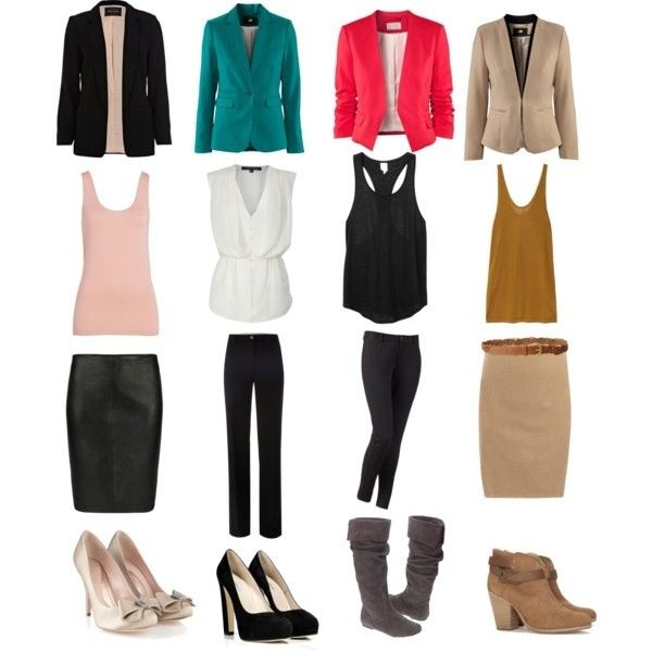business fashion styles.. pops of color with neutrals #personalbrand #workattire