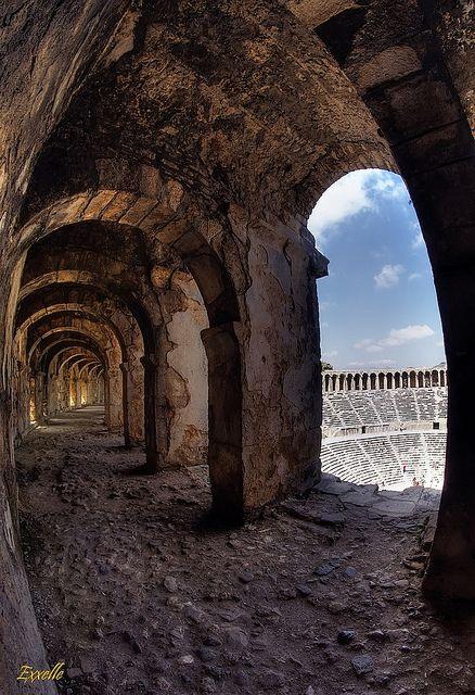 Ampitheater - Aspendos, Turkey