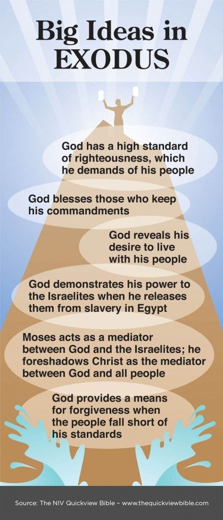 wow wow and wow. huge bible study site, click image and then click home.-Overview of Exodus Infographic illustration