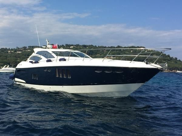 #Absolute 56 HT motor #yachts for sale in the UK, 3 Cabins and a spacious Cockpi…