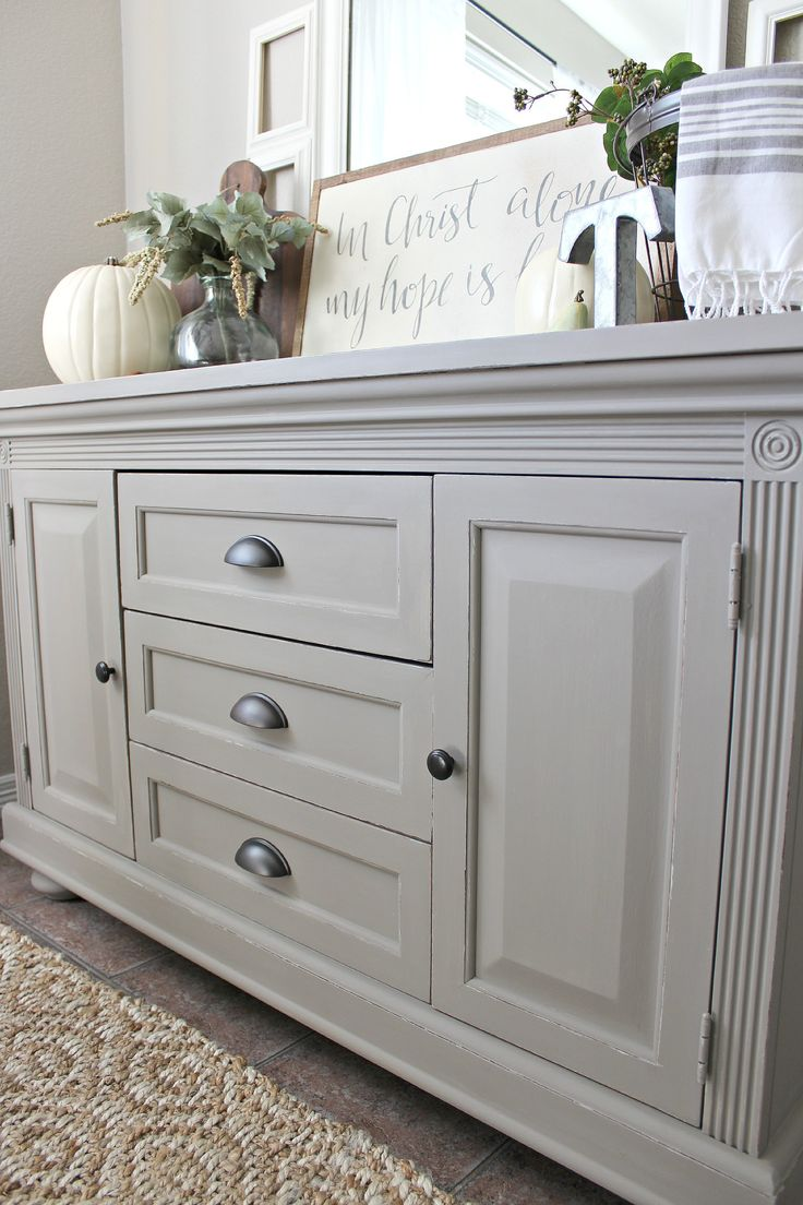 Painted buffet table furniture - Buffet Table 5 Possible Bedroom Tv Stand