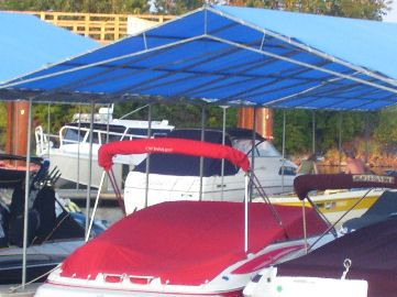 Make-Your-Own Portable Carport Shelter **Long Lasting Heavy Duty Covers for : boat carport canopy - memphite.com