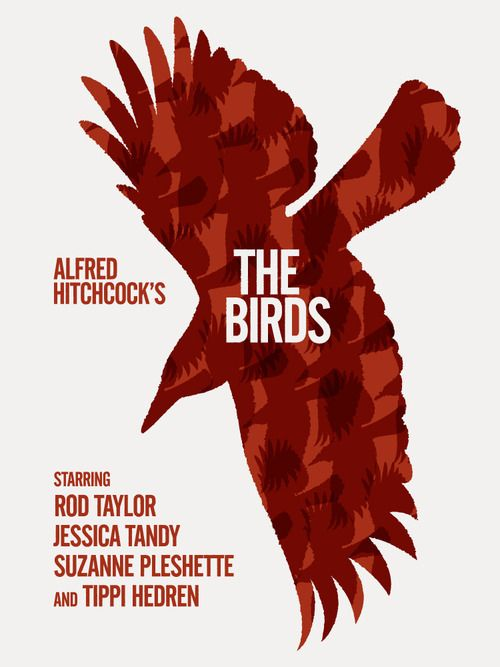 and   Popcorn red retro  amp      The  Movie black Birds Movie Posters  Minimalist Birds by   ck jordan Coke Posters