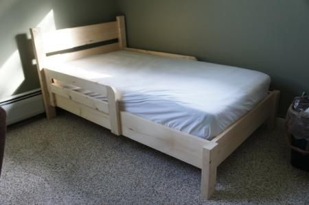 1000 images about toddler bed plans on pinterest for Easy do it yourself headboard ideas