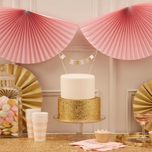 Pink & Gold Sparkle Party Image Credit Ginger Ray